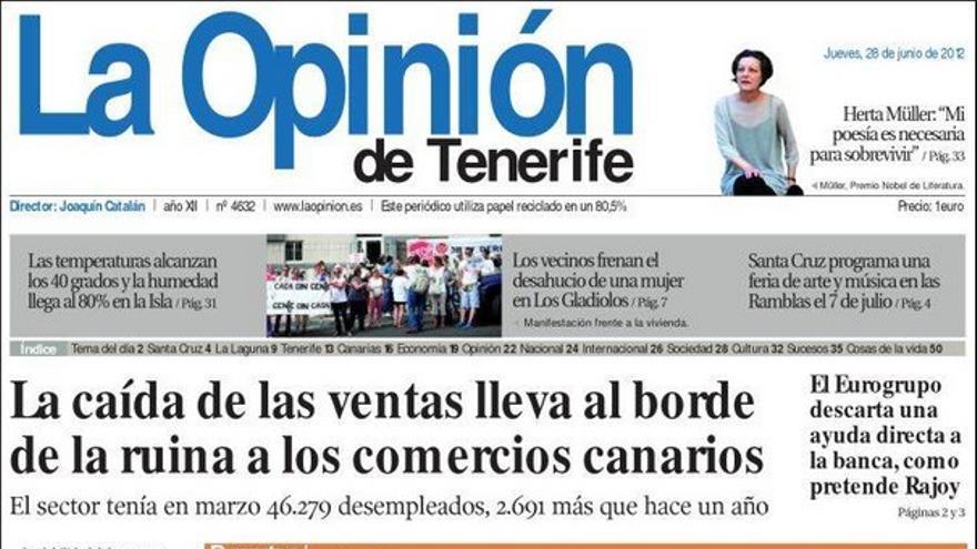 De las portadas del día (28/06/2012) #5