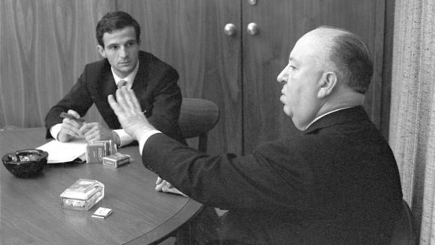 Hitchcock y Truffaut en los estudios Universal/ Fotograma del documental