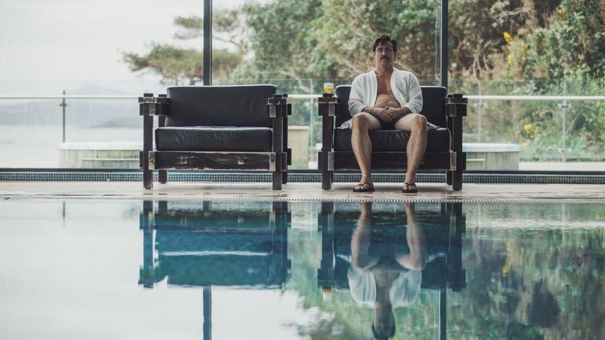 Colin Farrell en el Hotel