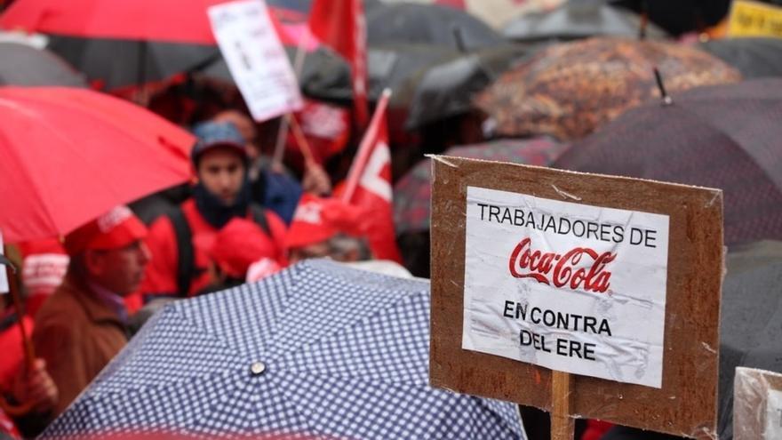 Trabajadores de Coca-Cola. Foto: Europa Press