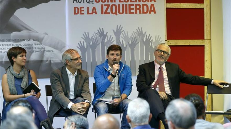 Llamazares dice que peligra la izquierda si no se crea un frente común y unitario