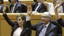 """Los diputados votan """"a mano alzada"""" por la falta de escaños en el Senado"""