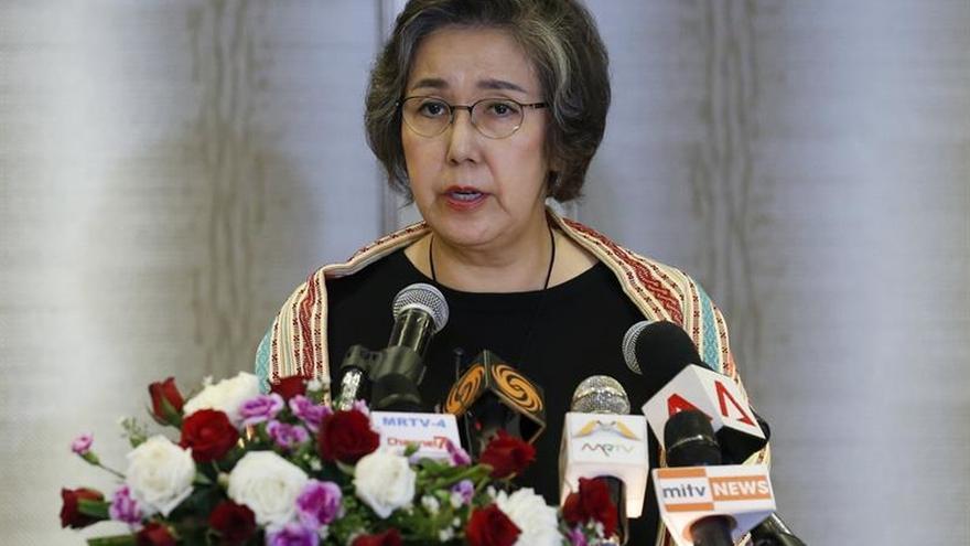 Relatora constata un deterioro de la situación durante una visita a Birmania