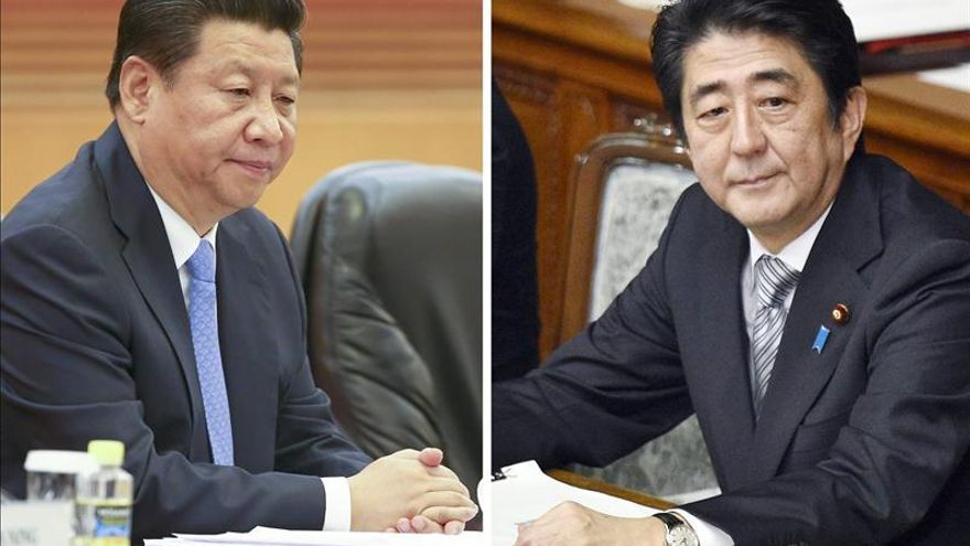 Xi y Abe se reúnen en Pekín sin anuncio previo tras dos años de desencuentro