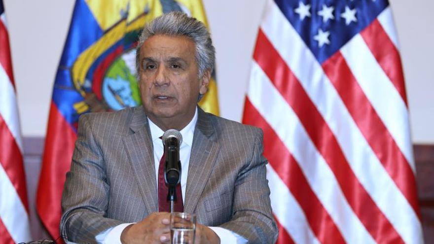 Moreno dice que hay pruebas de que la habitación de Assange fue un centro de espionaje