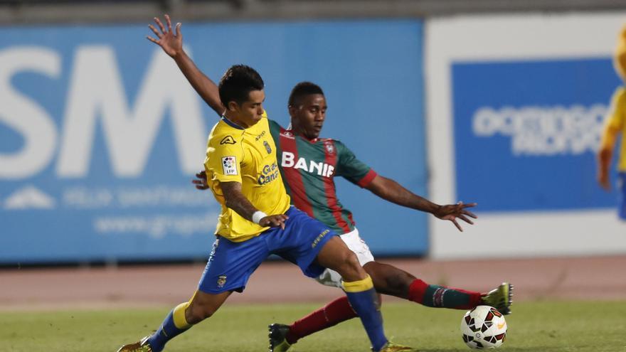 La UD Las Palmas derrota al Marítimo de Funchal (4-0) (Carlos Díaz Recio)
