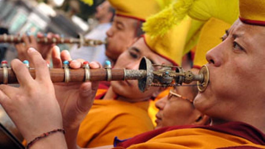 'El camino por la paz', desde el Tíbet hasta Canarias