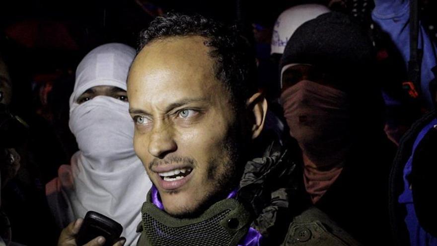 El policía que atacó el Supremo de Venezuela reaparece y da una entrevista a TVE