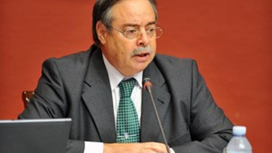 Domingo Berriel, consejero de Medio Ambiente y Ordenación Territorial del Gobierno de Canarias.