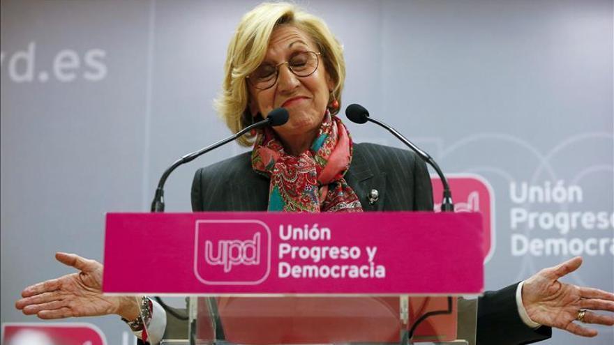 """Díez ve """"inapelablemente malos"""" los resultados de UPyD, pero no se plantea dimitir"""