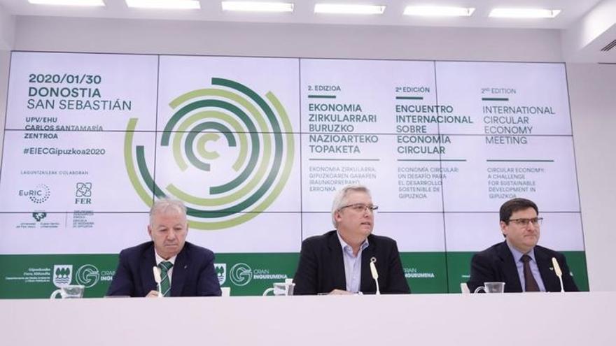 San Sebastián reúne a 200 profesionales europeos en la segunda edición del Encuentro Internacional de Economía Circular