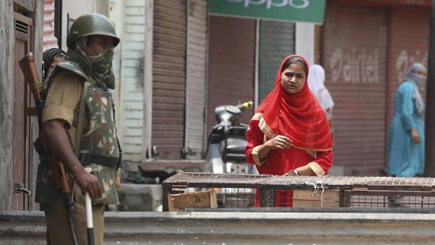La Cachemira india refuerza la seguridad en las vísperas del aniversario de protestas