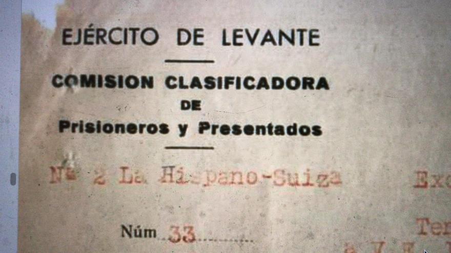 Documento del Campo Guadalajara 2 con sede en La Hispano Suiza