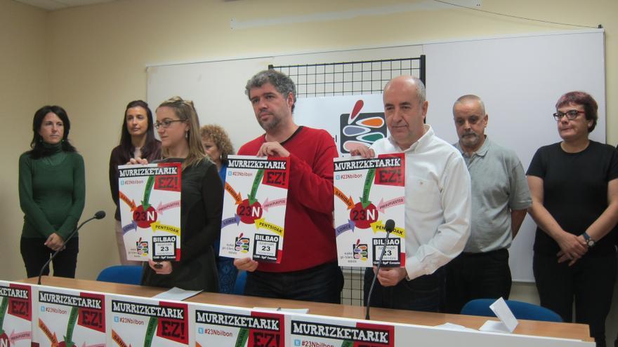 """Cumbre Social Vasca llama a movilizarse para pedir """"respeto a sus intereses, derechos y condiciones de trabajo"""""""