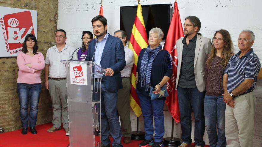 Ignacio Blanco presenta su candidatura a primarias de EU