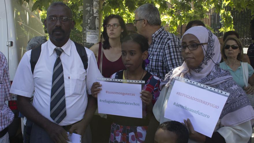 Yelal y su familia tienen que abandonar su piso en un mes porque no pueden pagarlo. Foto: A.O.