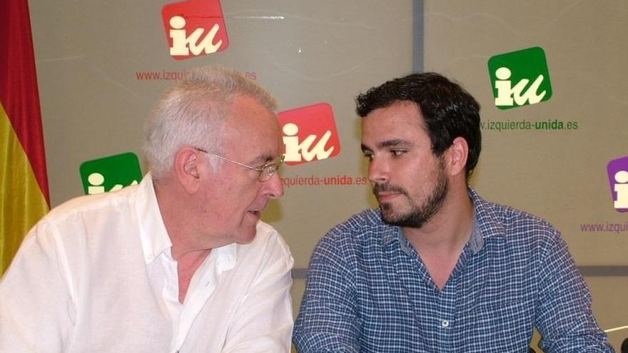 """Alberto Garzón insiste en que """"no hay que tener miedo"""" a supeditar las siglas de IU a un frente amplio de izquierdas"""