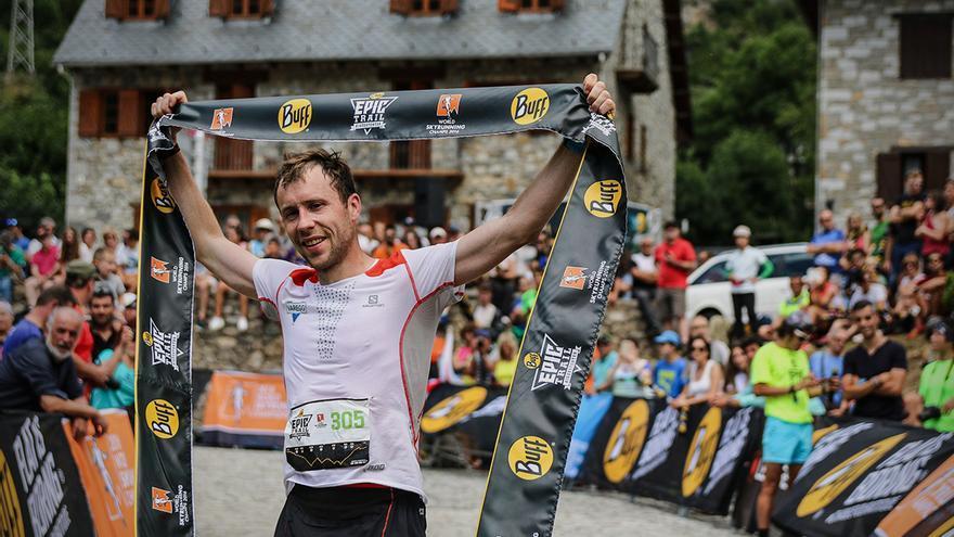 El deportista noruego Stian Angermund-Vik estará en la Transvulcania.