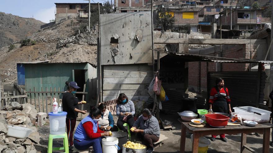 La pobreza en Perú se disparó en 2020 al 30,1 %, casi 10 puntos más que en 2019