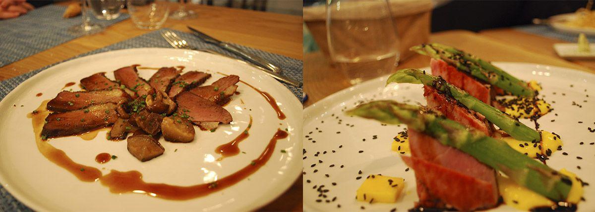 Díptico atún rojo y pato ahumado_Malasaña a mordiscos_La T Gastrobar