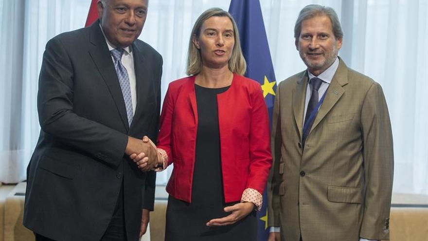 La UE y Egipto acuerdan una acción prioritaria en desarrollo social y diplomacia