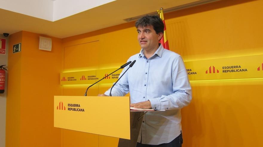 """ERC sobre la presidencia de Domènech: """"No nos liaremos con cosas que no tocan"""""""