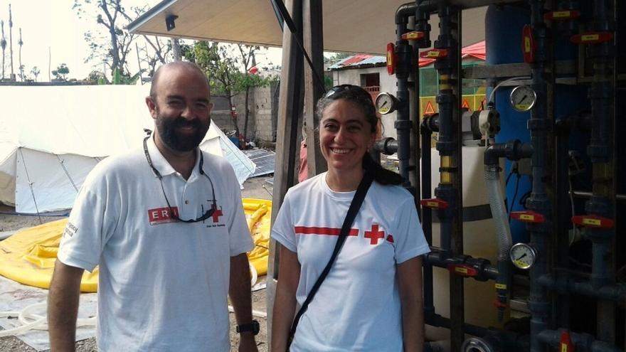 Esperanza Ursúa sustituye a Joaquín Mencos en la misión de emergencia de Cruz Roja en Haití