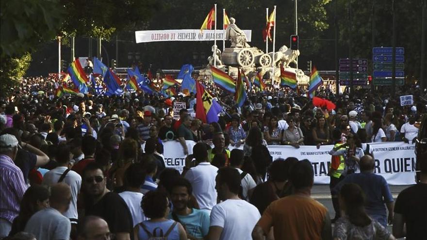 La FELGTB y COGAM han sido multados por el Ayuntamiento de Madrid
