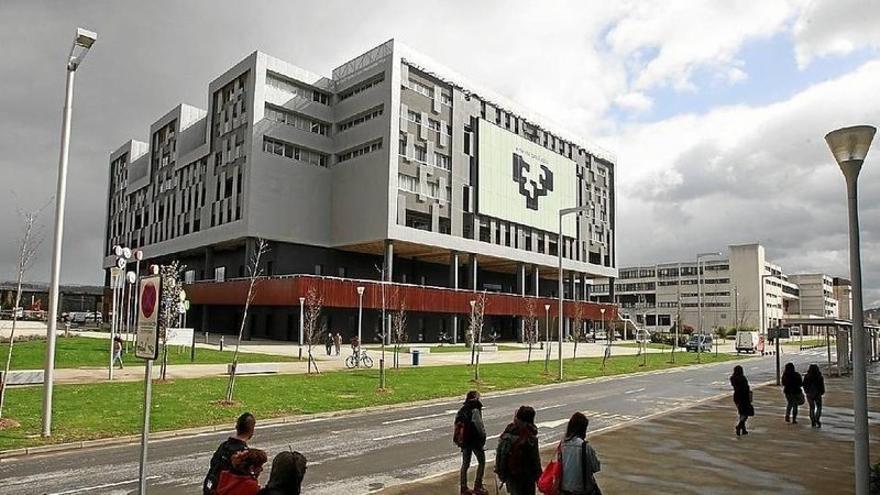 Edificio de la UPV.