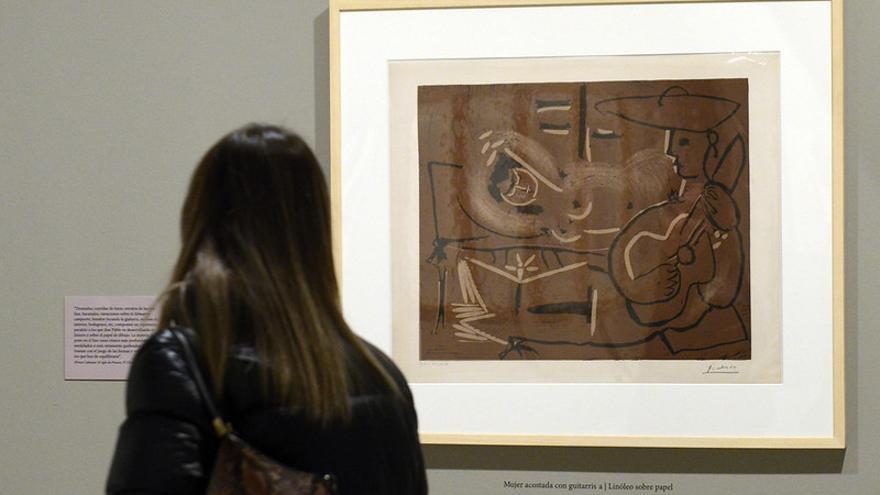 Exposición 'Picasso, modelos del deseo'.