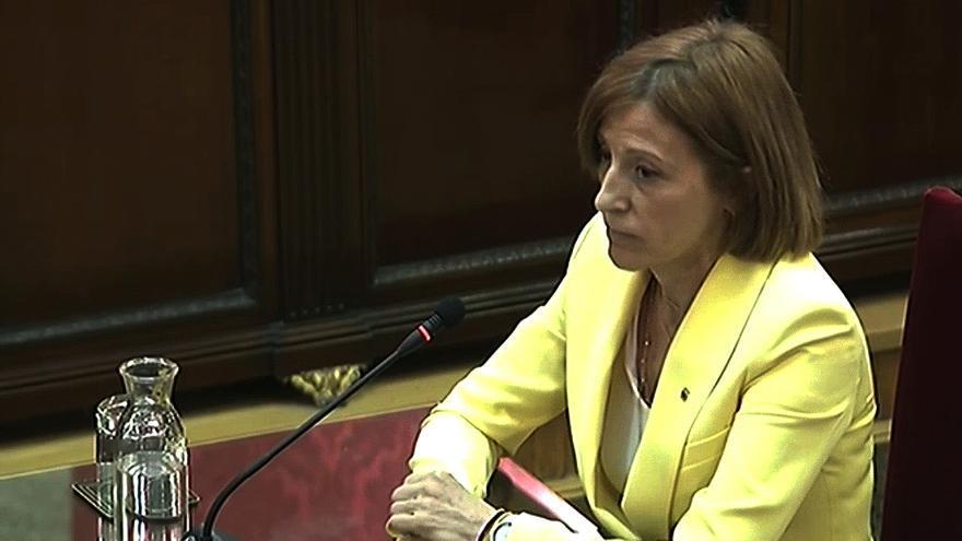 Forcadell admite que quizá los políticos independentistas no tuvieron empatía con los catalanes no separatistas