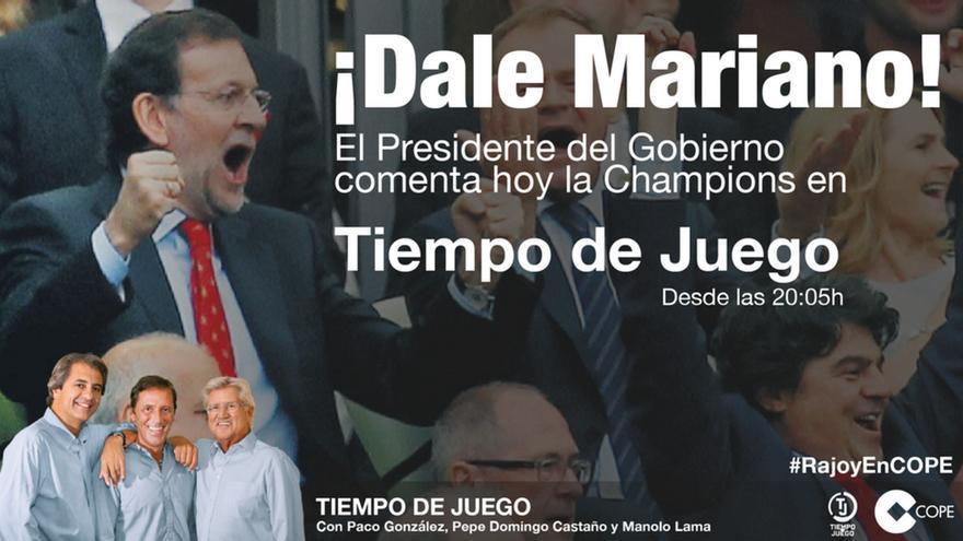 Rajoy, en Cope