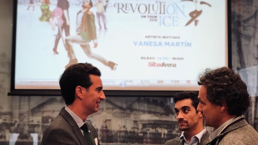 """""""Revolution on Ice"""" ofrece en diciembre en Bilbao un show de patinaje y música con Javier Fernández y Vanesa Martín"""