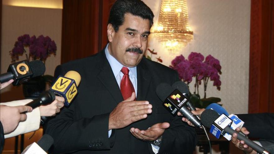 Nicolás Maduro se entrevista en Lisboa con el viceprimer ministro luso