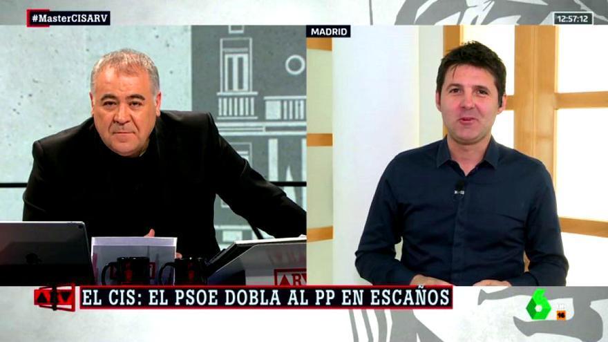 Antonio García Ferreras y Jesús Cintora en Al rojo vivo