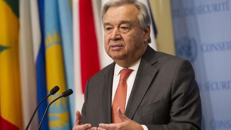 Guterres insiste en la necesidad de llegar a un mundo sin armas nucleares