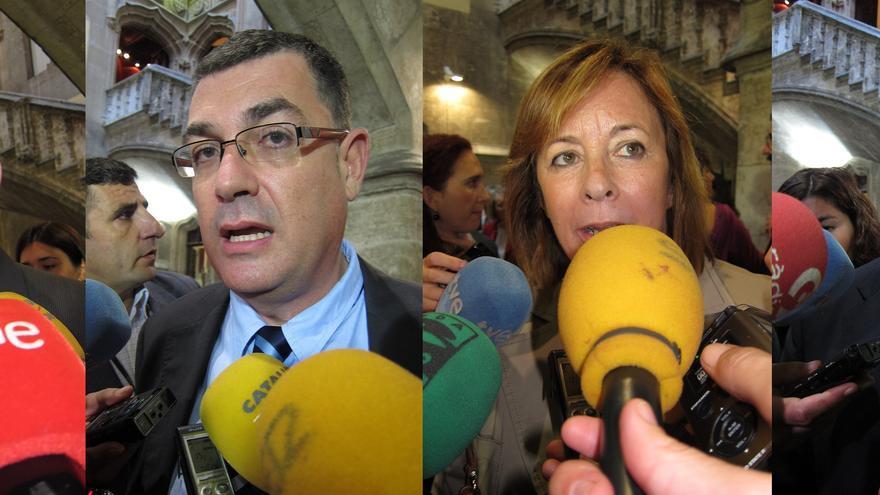 """PSPV, Compromís y EUPV dicen que el PP """"ha perdido la mayoría social"""" y trabajarán para lograr un cambio de políticas"""