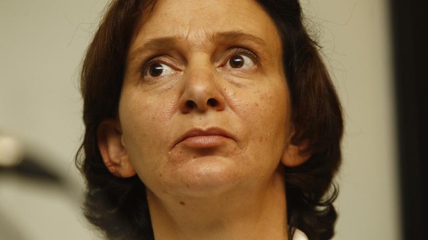 """Bescansa cree que el sistema informático de Podemos """"ofrece todo tipo de garantías"""" y apela a la tranquilidad en Ferrol"""