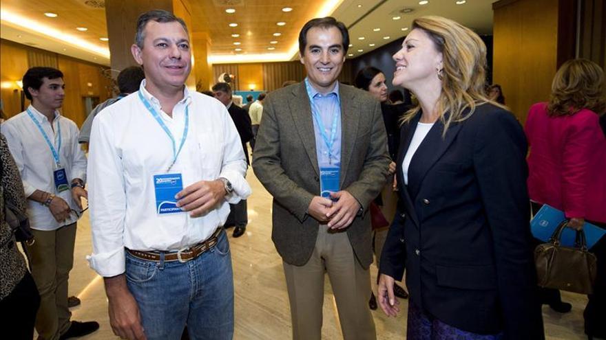 Rajoy y Cospedal se reúnen con los presidentes provinciales del PP andaluz