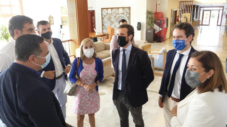 El secretario general del PP desvincula la visita de Pablo Casado a La Gomera de una posible moción de censura al Gobierno de Canarias