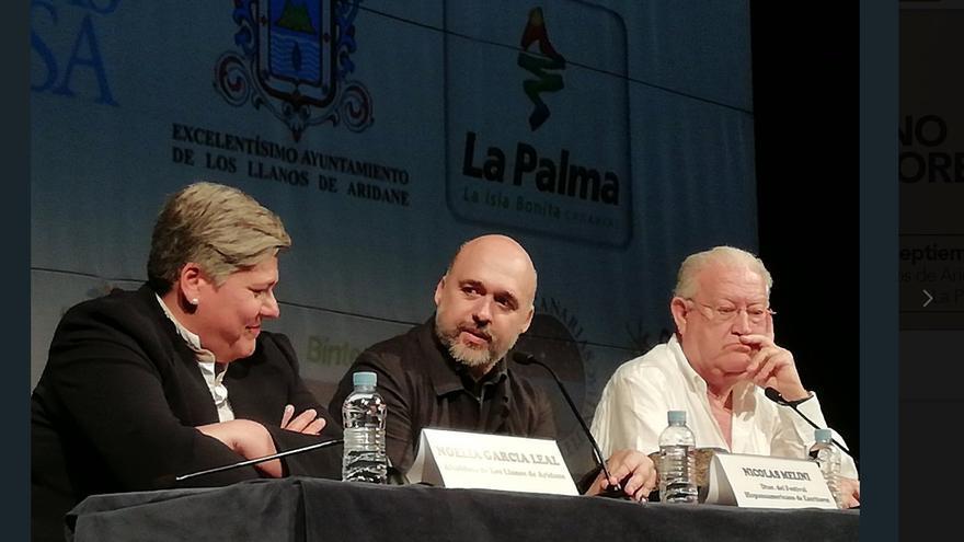 Presentación en Madrid del II Festival Hispanoamericanos de Escritores.