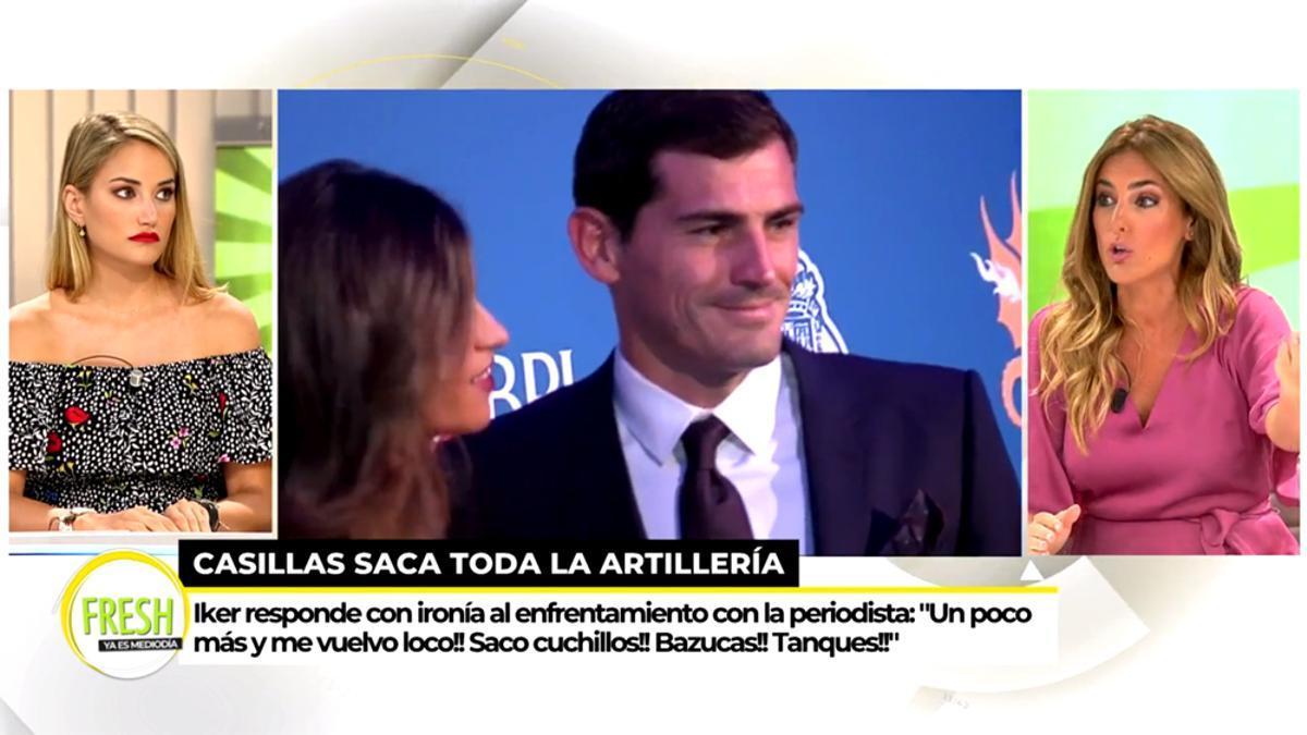 'Ya es mediodía', sobre la polémica de 'Socialité' con Iker Casillas