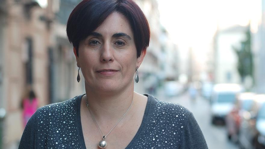 Juana Caro, cabeza de lista de Izquierda Unida en Ciudad Real en las elecciones de 2015