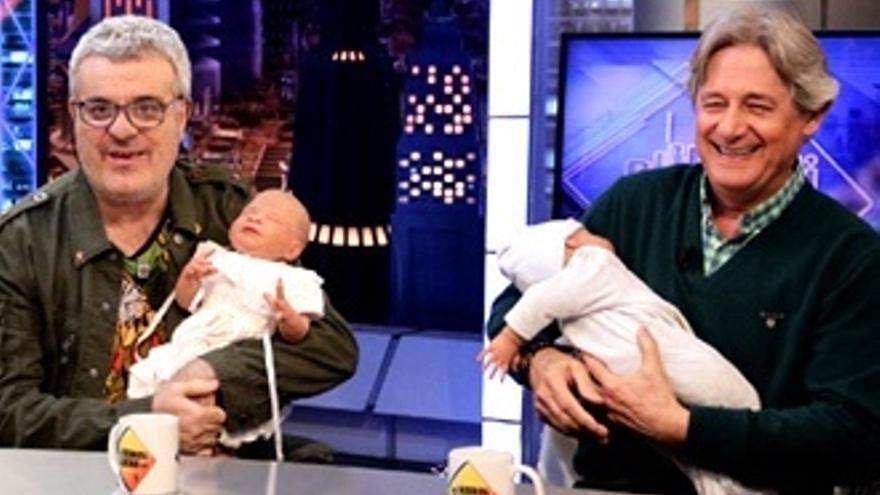 Pochola, Borja Mari y el 'bebé' de Bescansa con 'Martes y Trece' en 'El Hormiguero'
