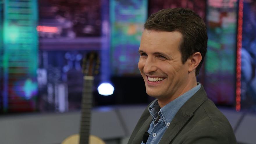 Pablo Casado en El Hormiguero de Antena 3.