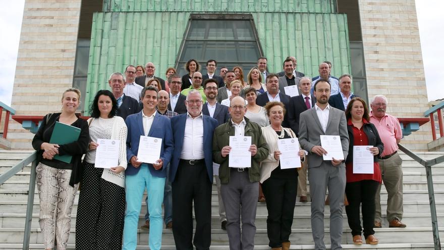 Más de 30 ayuntamientos reciben el certificado de pertenencia al Camino Norte de Santiago
