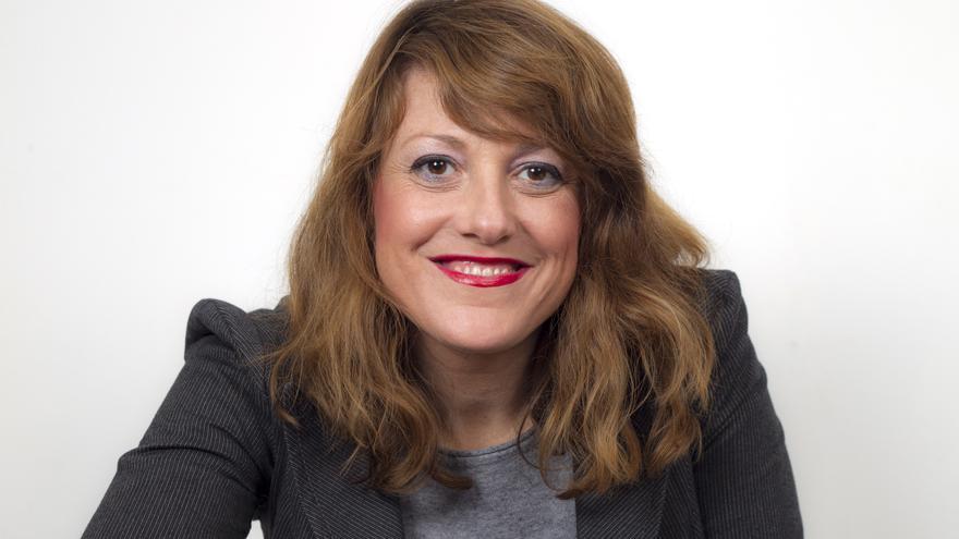 Maria Josep Picó, candidata de la coalición Compromís-Más País.
