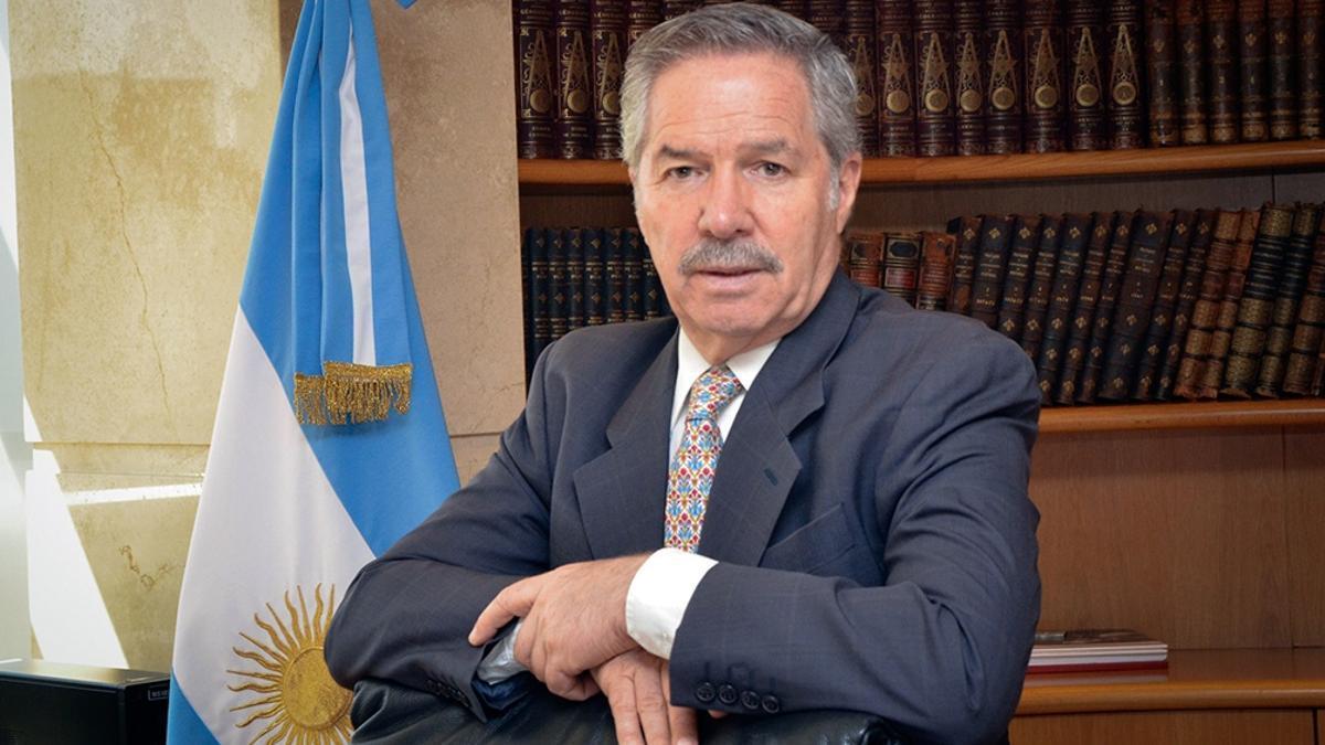 El canciller Felipe Solá