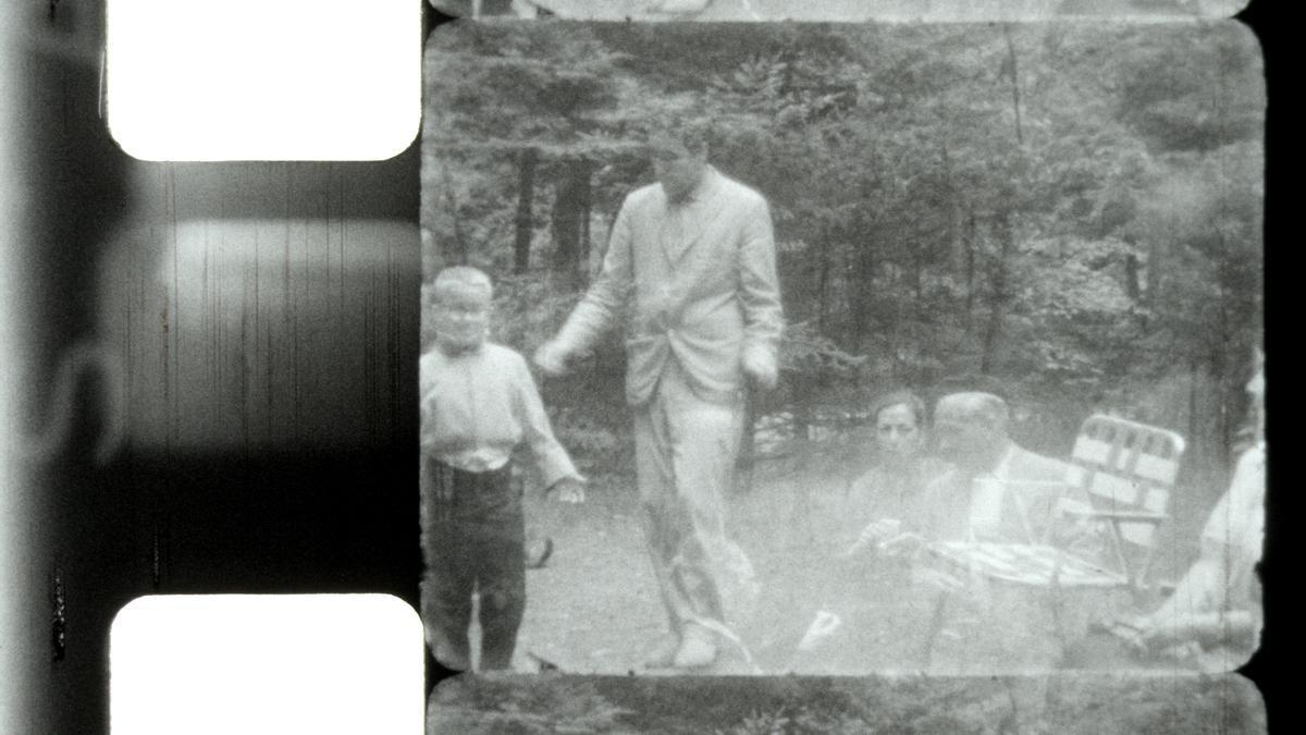 Fotograma de 'Middlebury', una de las películas experimentales del pintor surrealista Eugenio Granell