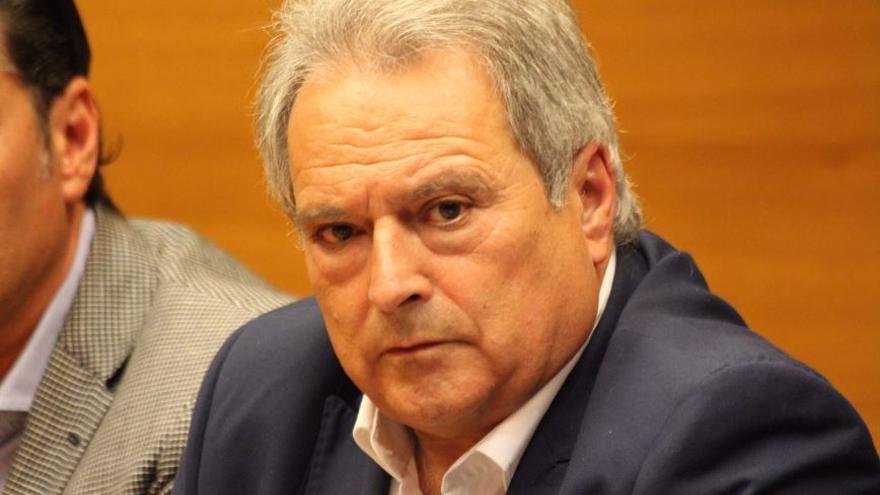 El exalcalde de Xàtiva y expresidente del PP valenciano, Alfonso Rus